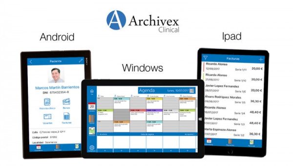 ¡Archivex Clinical llega a TABLETS!